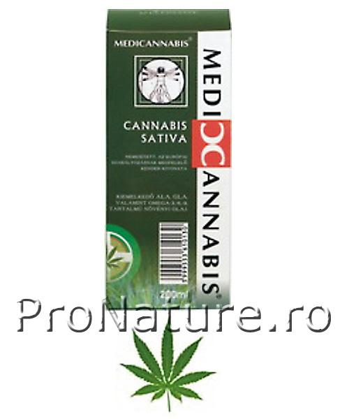 Medicannabis-ulei