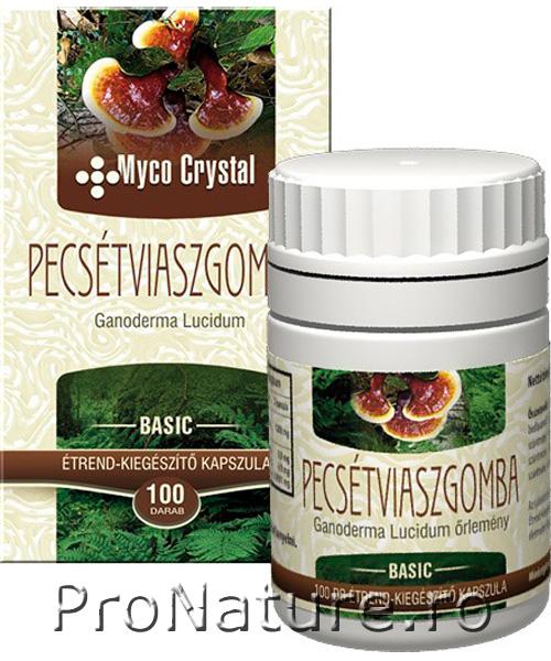 Ciuperca GanodermaL 100 cps