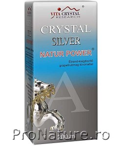 Crystal silver 200ml