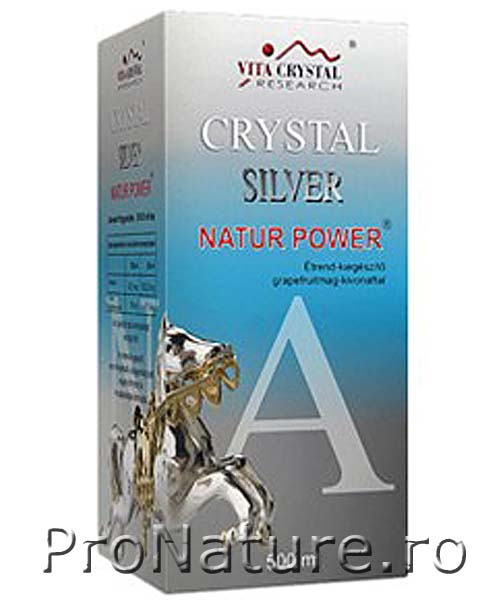 Crystal silver 500ml